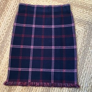 Loft Outlet Skirt Thick Knit NWT